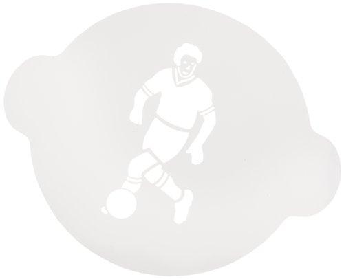 Silikomart 193819 decoratieve sjabloon voetbal