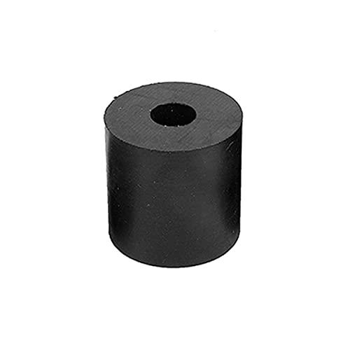 MHUI Hoja De Caucho De Silicona Placa Redonda Hueca Utilizada para Sellar Tuberías Aislar Cables Eléctricos Que Absorben Impactos Y Vibraciones (5 Piezas),70mmX10mmX12mm