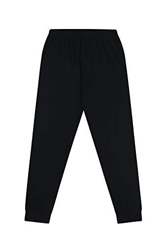 The Pyjama Factory Boys Chill Mode Gaming Cotton Long Pyjamas, Black, 13-14 Years