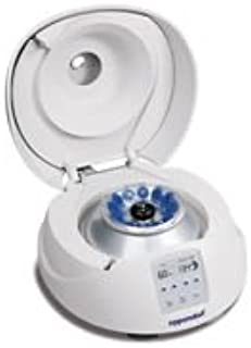 EPPENDORF NORTH AMERICA 022-62-020-7 Minispin Plus Microcentrifuge with 12-Place Rotor, 14100 RCF Maximum G-Force, 8.9