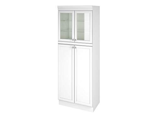 Paneleiro 4 Portas Americana Nesher Móveis Branco