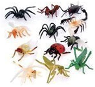 US Toy - US Assorted Mini Insect Bug Figures, Plastic (2 Inches), (2-Pack of 12)