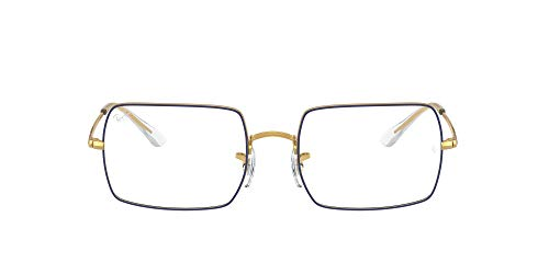 Ray-Ban VISTA 0RX1969V Gafas, Azul sobre oro leyenda, 54 Unisex Adulto