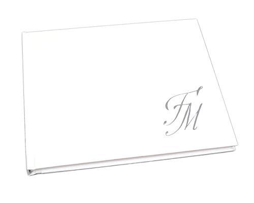 Guestbook matrimonio - libro dediche e auguri invitati personalizzato iniziali sposi