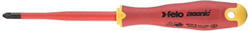 Felo 0715762661 +/-Z2 e-slim geïsoleerde schroevendraaier met lengte 10,2 cm