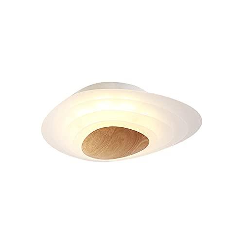 LPFWSK Luz de techo de montaje empotrado de estilo japonés Luz de techo LED ajustable 3000K-6000K Accesorios de iluminación de estilo moderno y simple Lámparas de ahorro de energía decorativas de made