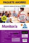Paquete Ahorro y Test online GRATIS Monitor/a del Servicio Andaluz de Salud. Ahorra 60 € (incluye Temario común; Temario específico volúmenes 1 y 2; 1800 test online gratis y acceso a Curso Oro)