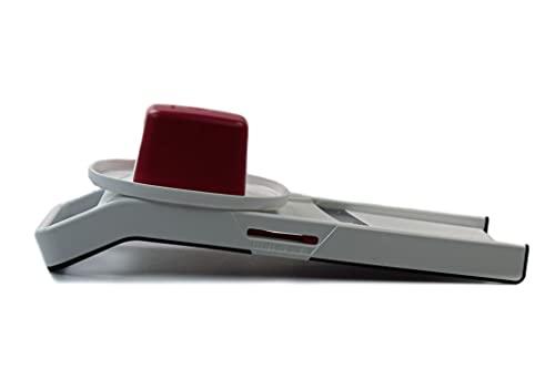 TUPPERWARE C68 Mandolino Junior bianco rosso scuro