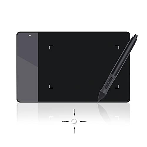 Huion 420 OSU Tavoletta Grafica 10x5.6cm con Penna Digitale per Disegno