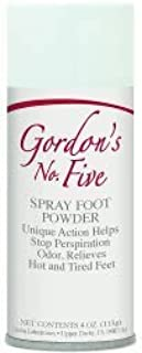 Gordon's No. Five Spray Foot Powder