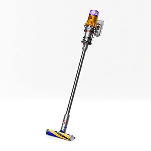 ダイソン サイクロン式スティッククリーナー 充電式 パワーブラシタイプ イエロー/アイアン/ニッケル【掃除機】Dyson V12 Detect Slim Total Clean SV20ABL