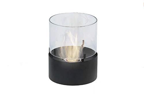 EWT Tisch Ethanol Kaminfeuer, Gartenkamin, Aussenkamin Dinkel