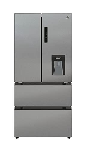 Hoover HSF818FXWDK Multi Door Fridge Freezer, Stainless Steel