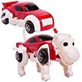 変形ドライブカー 恐竜 レッド