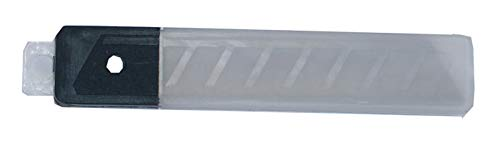 BGS 7971 | Ersatzklingen-Satz | 10-tlg. | 18 mm | für Cutter, Teppichmesser | Ersatzklingen | Messerklingen | Abbrechklingen