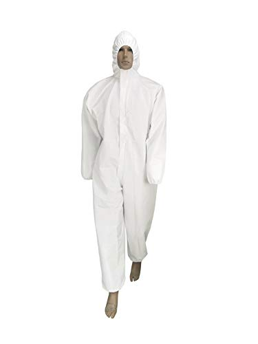 Seniorwear Disposable Coverall w/ Hood (various sizes) $5.03 + Free Shipping w/ Prime or on orders over $25