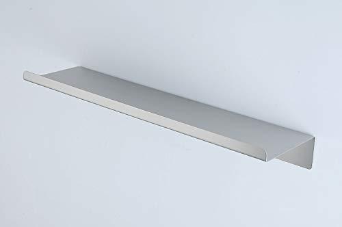 Ripiani da parete in metallo galleggianti, con mensola, per bagno, 100% acciaio inox, per cucina, camera dei bambini, soggiorno