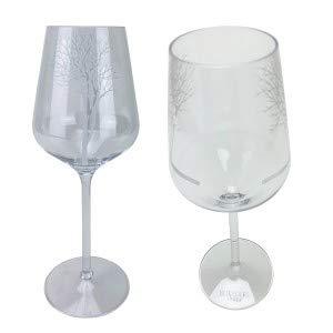 Belvedere Vodka Wodka Weinglas Sprizzglas Longdrinkglas Glas Gläser Set aus Kunststoff edel transparent - 2X Gläser