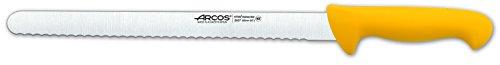 Arcos Serie 2900 - Gebäckmesser Kuchenmesser - Klinge Nitrum Edelstahl 300 mm - HandGriff Polypropylen Farbe Gelb