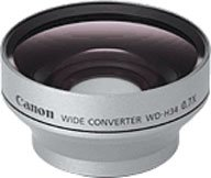 Canon WD-H34 Wide Angle Lens for the Optura 50/60 & Elura 80/85/90 Camcorders from Canon