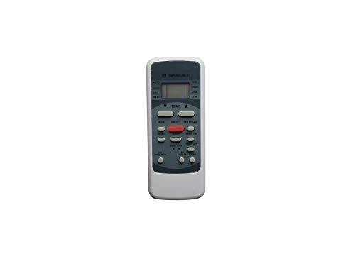 Hotsmtbang Replacement Remote Control for Goodman MSG-18HRN1 MSG-18HRN1N MSG-24HRN1 MSG-24HRN1N 2335509005 2335509007 203355091469 Heat Pump Mini-Split System Air Condtioner