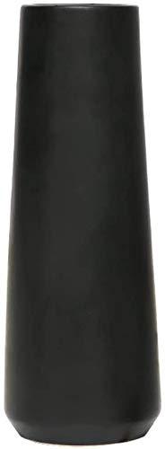 UMYMAYDO1 Blumenvasen Schwarz Keramik Vasen für pampasgras, Decorative Vase Keramikvase für Wohnzimmer Tisch Zuhause Büro Deko (Schwarz)