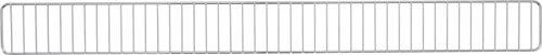 BGS 89930   Frontgitter   1000 x 95 mm   Stahl   für Fachboden