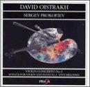 David Oistrach in Prag Vol. 5: Sergey Prokofiev: Violinkonzert Nr. 1 op. 19 / 5 Melodien op. 35b / Violinsonate Nr. 1 op. 80