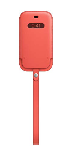 Apple Funda Integral de Piel conMagSafe (para el iPhone 12 Mini) - Pomelo Rosa