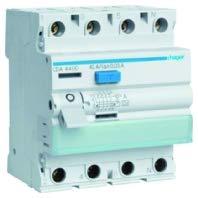 Hager CDA440DY - Interruptor diferencial