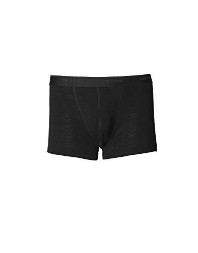 Dilling große Größen - Boxershorts für Herren aus 100% Bio-Merinowolle Schwarz 6XL