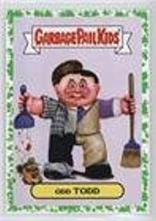 Odd Todd (Trading Card) 2016 Topps Garbage Pail Kids Prime Slime Trashy TV - Reboot TV Series - Green Spit #6a