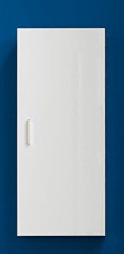 Trendteam Mueble Armario lavabo, con pila, Madera, Blanco, 57 x 85 x 92 cm