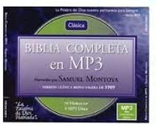 LA Santa BIBLIA Version Reina-Valera 1960 EN MP3: LA BIBLIA COMPLETA GENESIS - APOCALIPSIS (2004)