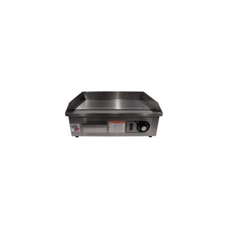 Plancha à snacker électrique Dessus Inox - L2G - Inox