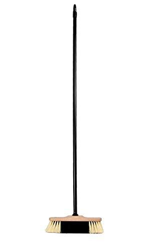 BawiTec Zimmerbesen Stubenbesen 30cm mit Stiel 120cm Haushaltsbesen weich Besen