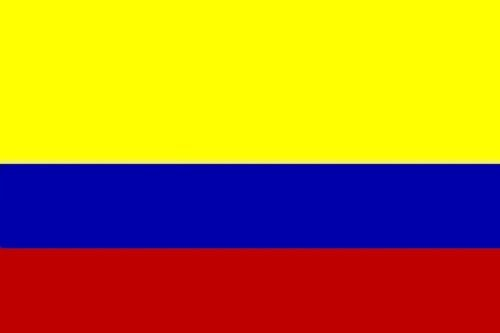 Durabol Bandiera Colombia 150 x 90 cm Double Pique Satin