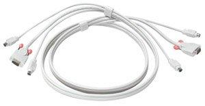 Lindy Premium KVM Combo Cable, 5m (33714)