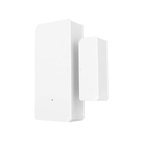 Fesjoy DW2 Sensor WiFi inalámbrico para ventana de puerta, sensor de alarma abierto/cerrado, automatización inalámbrica, antirrobo, e-WeLink, notificación de alarma inteligente para el hogar