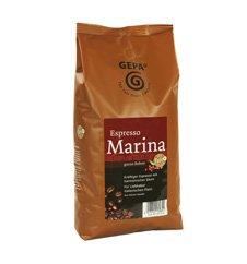 GEPA Marina Espresso ganze Bohne - 1 Karton (4 x 1000g) Fair Trade Kaffee