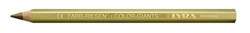 LYRA Farb-Riesen Kartonetui mit 12 Farbstiften, gold