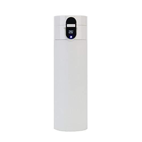 shenlanyu Botella de agua aislada Smart Sports Botella de agua – Pantalla de temperatura, brilla para recordar que bebes 7HH202931-W