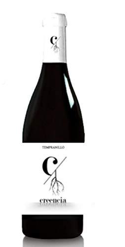Creencias Tempranillo D.O Tierra De Extremadura Botella De Vino De La Tierra De Extremadura Botella De Vino Creencias Tempranillo 100% Tempranillo Tinto joven