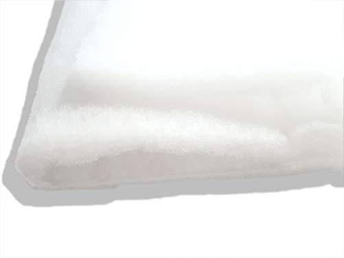 Fashion-Sonderposten Volumenvlies Polsterwatte Vlieswatte Diolenwatte in Weiss, 150 cm x 200 cm, 80 m2