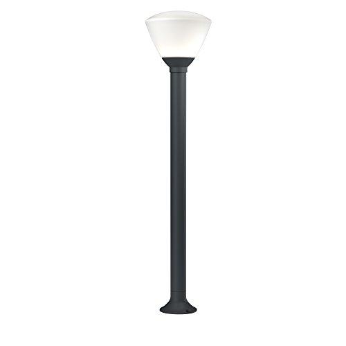 OSRAM - Borne extérieure LED ENDURA STYLE 90cm - Verre brossé - 7W Equivalent 35W - Gris Anthracite - Garantie 5 ans