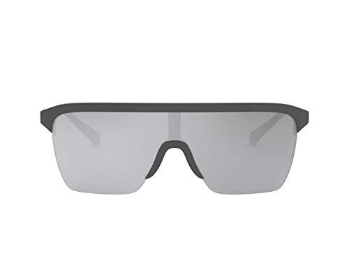 Emporio Armani 0EA4146 Gafas, Matte Grey/Grey, 36/13/145 Unisex Adulto
