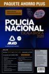 Paquete Ahorro PLUS Escala Básica Policía Nacional 2020. Ahorra 130 € (Temarios 1, 2 y...