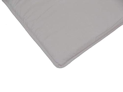 Arm's Reach Co-Sleeper Fitted Sheets 100% Cotton for Mini, Clear-Vue, Cambria/ Grey