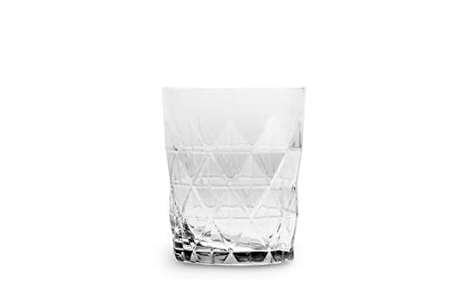 Excelsa Luxor - Juego de 6 vasos de agua de cristal