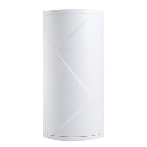 Rotation À 360 ° Sur Les Produits Cosmétiques Etagère De Salle De Bains Toilette Meuble De Rangement Mural (Couleur : Blanc)